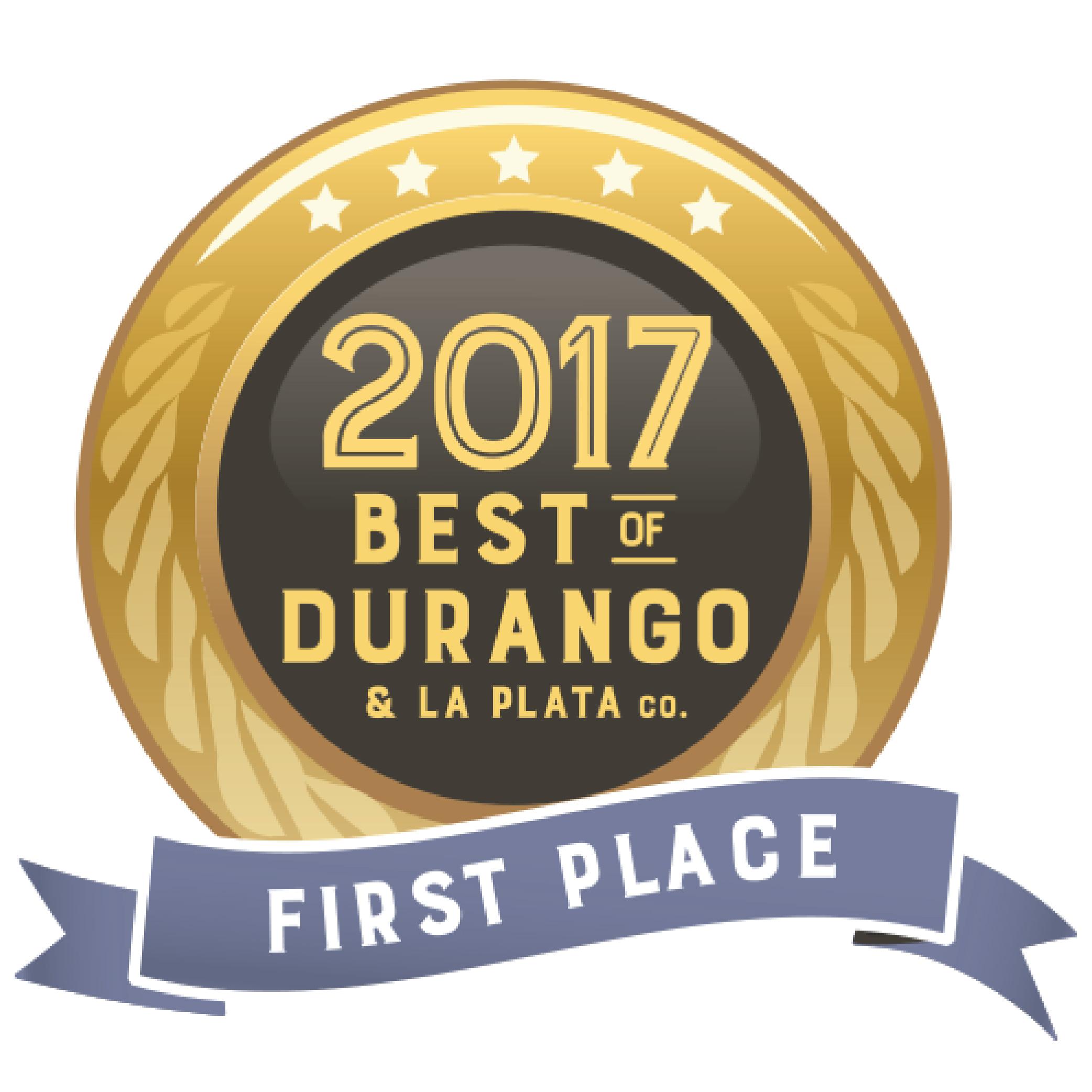 Best of Durango Award 2017