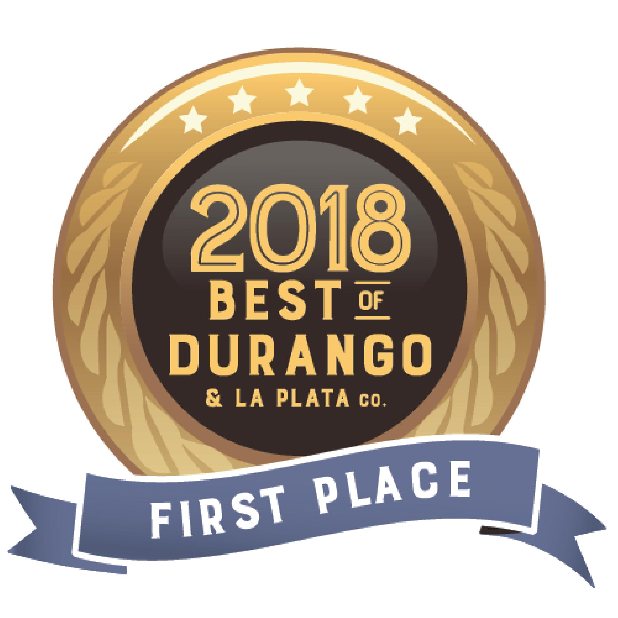 Best of Durango Award 2018