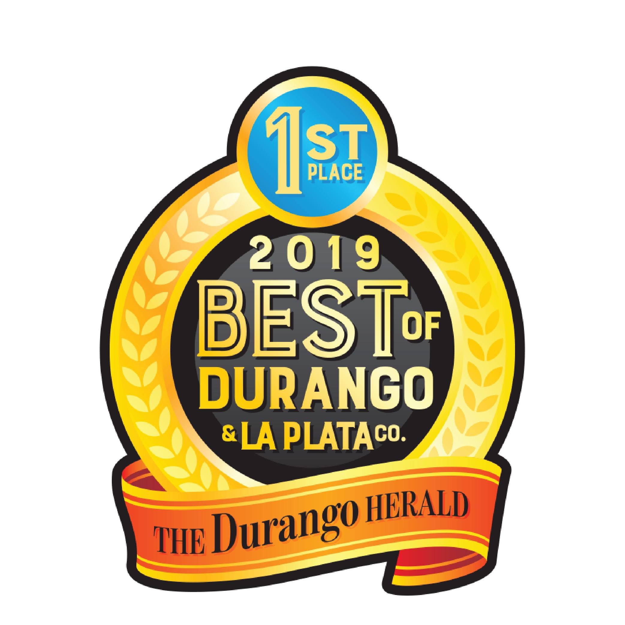 Best of Durango Award 2019